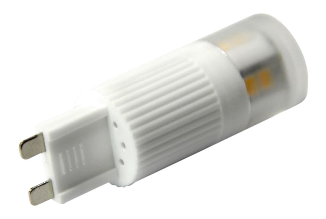 leditburn g9 led cylinder weiss 2 5 watt ersetzt 20w a 210lm warmwei 240v nicht dimmbar. Black Bedroom Furniture Sets. Home Design Ideas