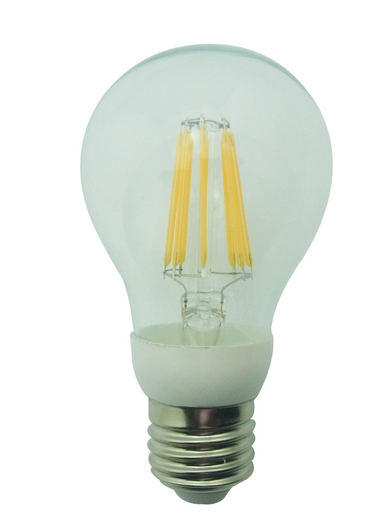 leditburn e27 led filament bulb 6 5 watt equals 60w a 720lm warm white 240v not dimmable. Black Bedroom Furniture Sets. Home Design Ideas